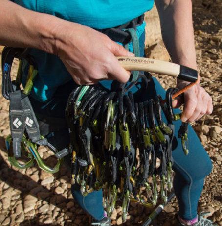 Freestone Equipment Love Handle organizing quickdraws