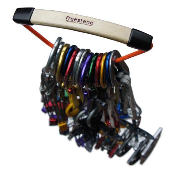 Freestone Equipment Love Handle Climbing Gear Organizer Black